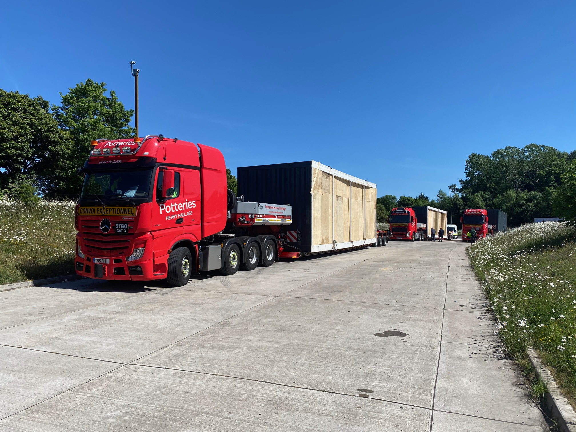 Transport of Modular Buildings - Data Centres